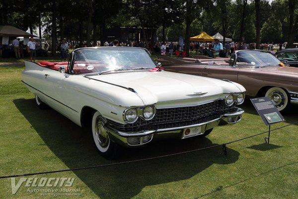 1960 Cadillac Series 62 2d convertible