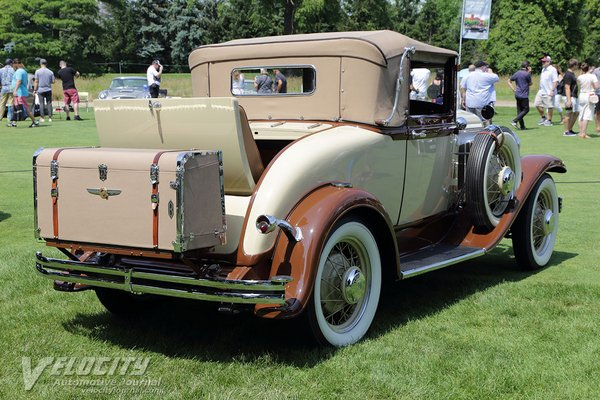 1931 Chrysler CJ Convertible Coupe by Briggs