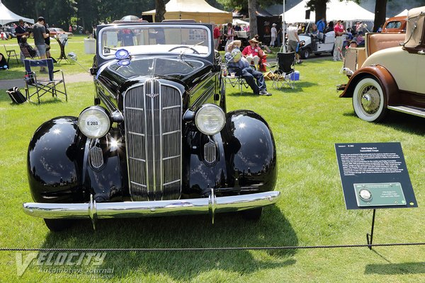 1936 Dodge Series D2 Convertible Coupe