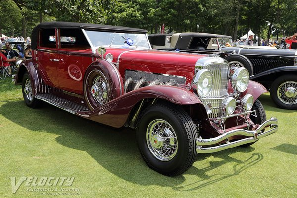 1933 Duesenberg Model SJ Convertible Berline by Murphy