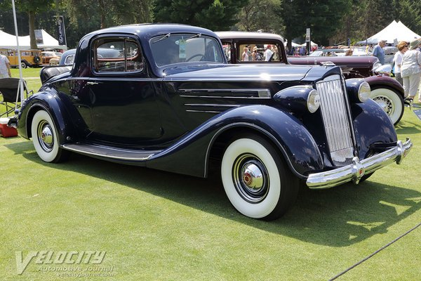 1937 Packard Model 1507 2-4 Coupe