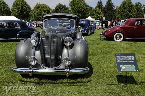 1938 Packard Model 1605 custom hard top sedan by Bohman and Schwartz