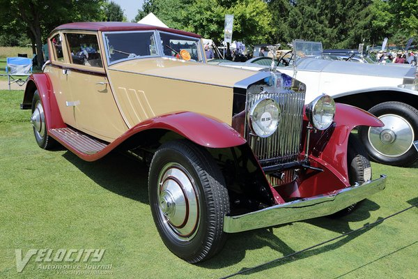 1930 Rolls-Royce Phantom I Wind Blown Coupe by Brewster