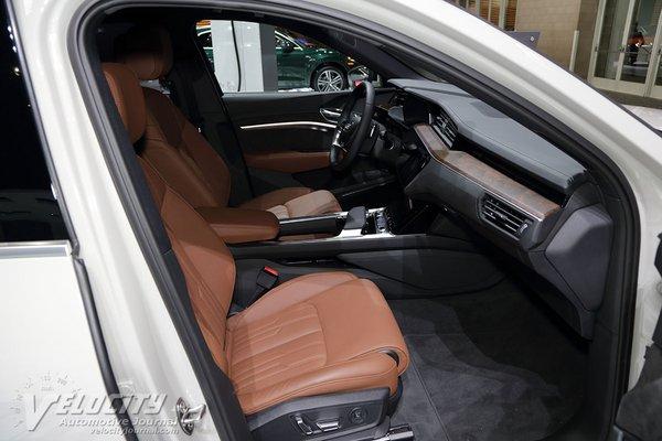 2019 Audi e-tron SUV Interior
