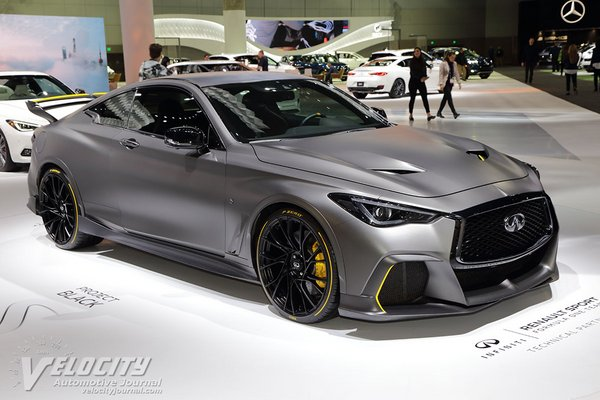 2018 Infiniti Project Black S prototype