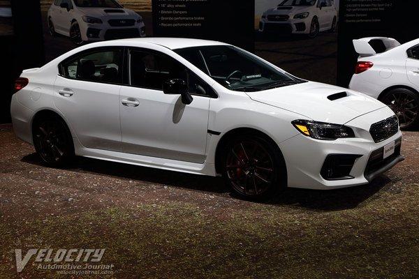 2020 Subaru WRX Series.White