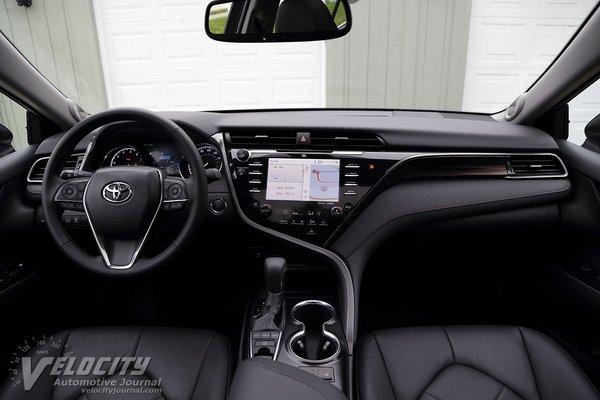 2019 Toyota Camry XLE Interior