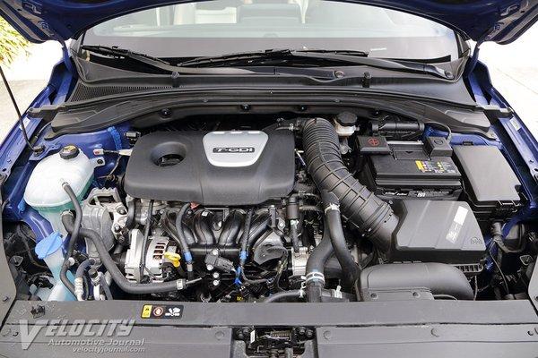 2019 Hyundai Elantra GT N-Line Engine