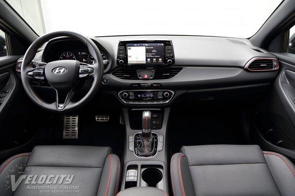 2019 Hyundai Elantra GT N-Line Interior
