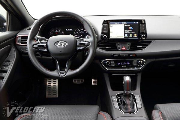 2019 Hyundai Elantra GT N-Line Instrumentation