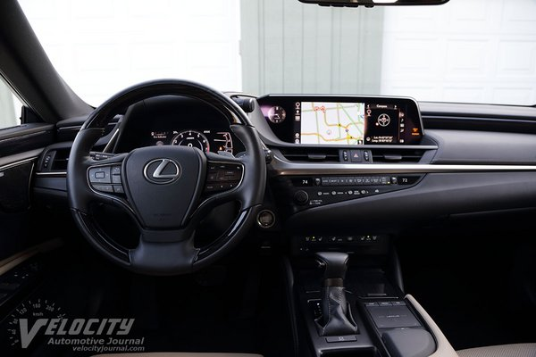 2019 Lexus ES 350 Ultra Luxury Instrumentation