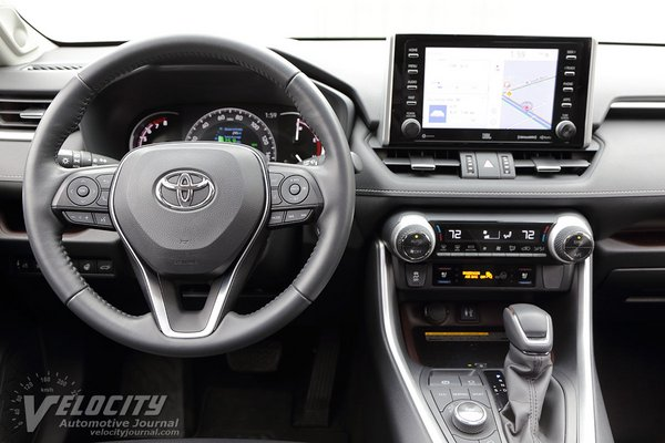 2019 Toyota Rav4 Limited AWD Instrumentation