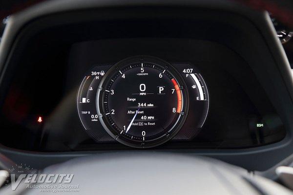 2019 Lexus UX200 F Sport Instrumentation