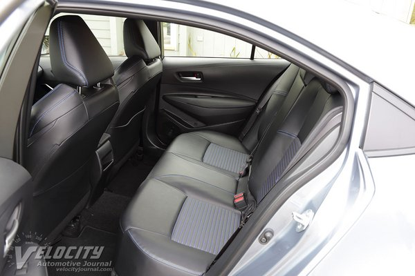 2020 Toyota Corolla XSE sedan Interior