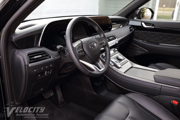 2020 Hyundai Palisade Limited AWD Interior