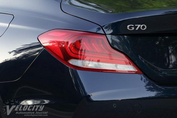 2020 Genesis G70 2.0T Prestige RWD