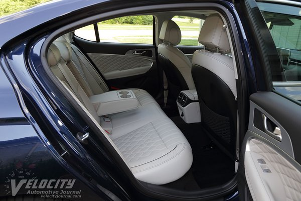 2020 Genesis G70 2.0T Prestige RWD Interior