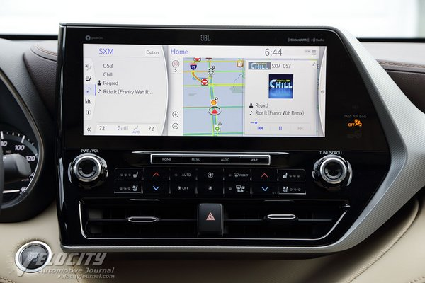 2020 Toyota Highlander Platinum AWD Instrumentation