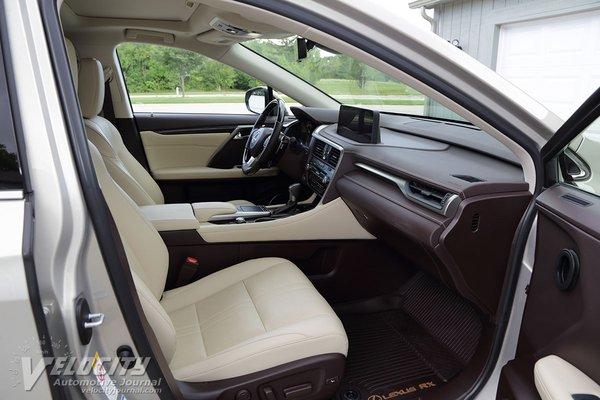 2020 Lexus RX350L Interior