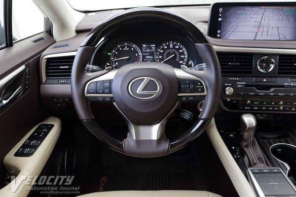 2020 Lexus RX350L Instrumentation
