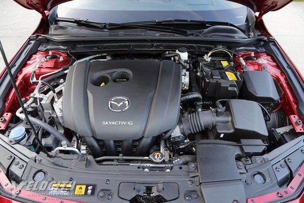 2020 Mazda Mazda3 5d Engine