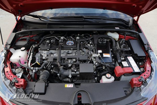 2020 Toyota Corolla sedan Engine