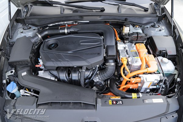 2020 Hyundai Sonata Hybrid Limited Engine