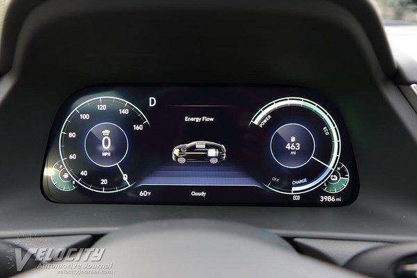 2020 Hyundai Sonata Hybrid Limited Instrumentation
