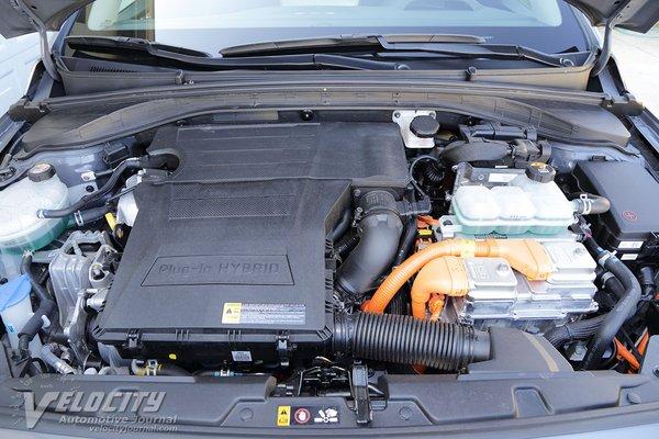 2020 Hyundai Ioniq PHEV Engine
