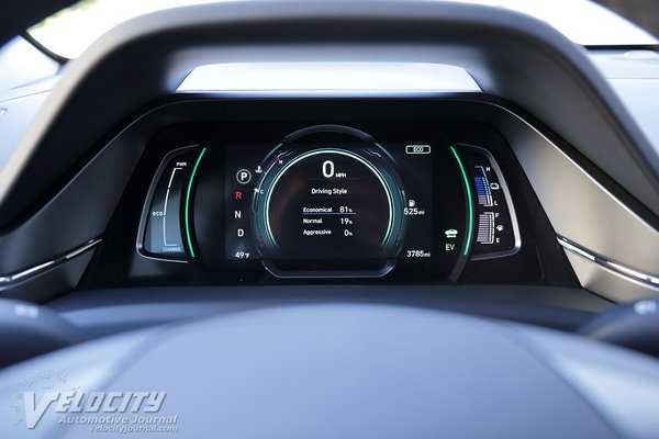 2020 Hyundai Ioniq PHEV Instrumentation