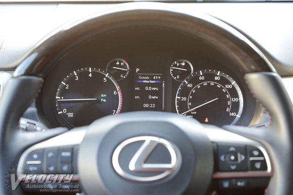 2020 Lexus GX Instrumentation