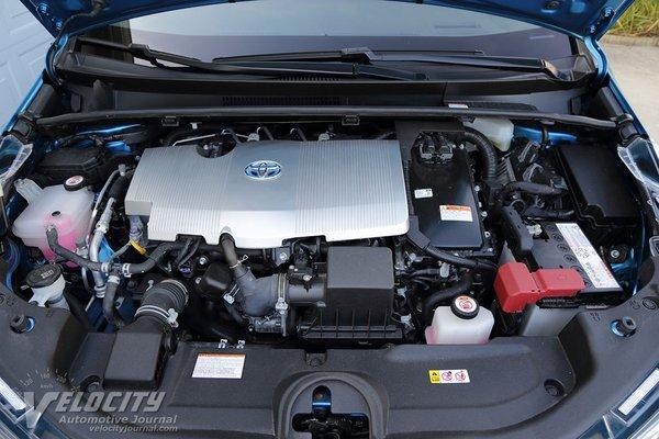 2020 Toyota Prius XLE AWDe Engine