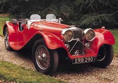1936 Jaguar SS 100 Roadster