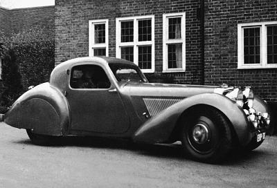 1938 Jaguar Jaguar 100 Concept