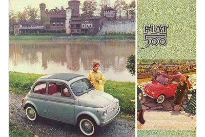 1960-1965 Fiat 500 D advertisement