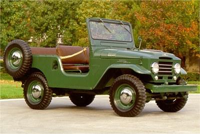 1961 Toyota Land Cruiser