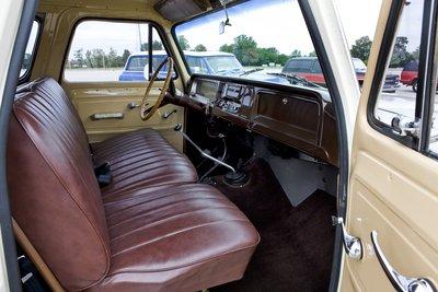 1966 Chevrolet Suburban Interior
