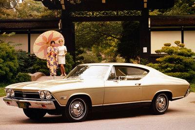 1968 Chevrolet Chevelle Malibu 2d ht