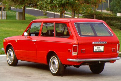 1970 Toyota Corolla Station Wagon Pictures