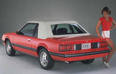 1980 Ford Mustang with carriage roof