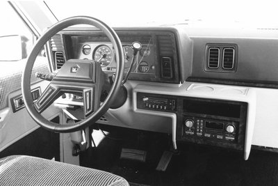 1984 Plymouth Voyager Instrumentation