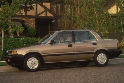 1985 Honda Civic Sedan