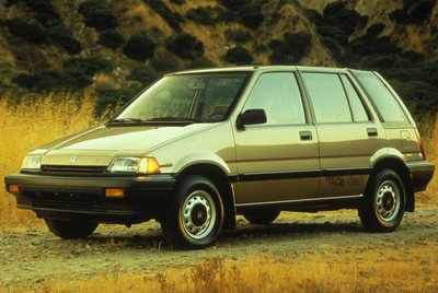 1987 Honda Civic Wagon 4WD