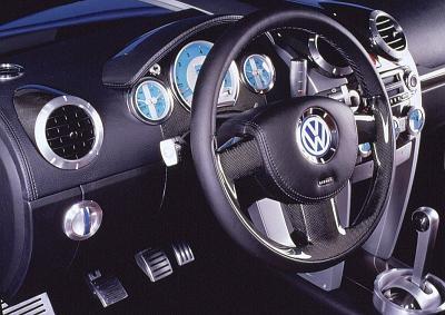 Volkswagen Beetle Rsi interior