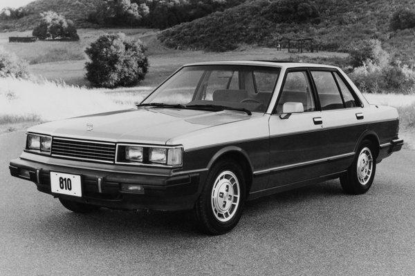 1981 Datsun 810 Maxima sedan