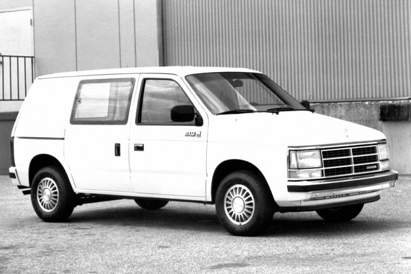 1987 Dodge Mini Ram Van