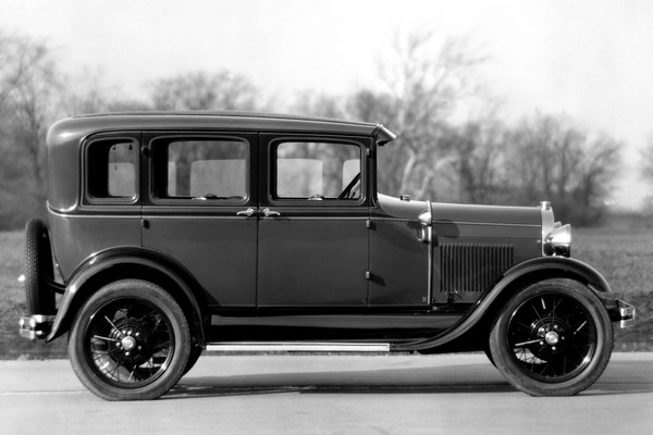 1929 Ford Model A 4d sedan