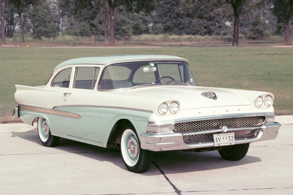 1958 Ford Custom 300 2d sedan