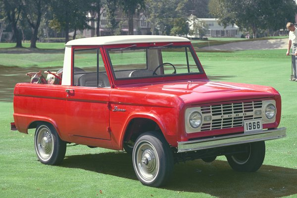 1966 Ford Bronco Pickup