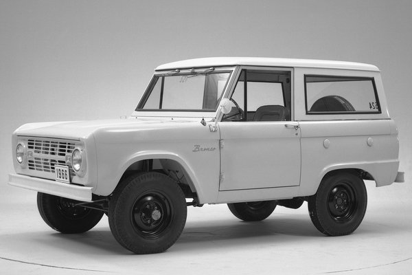 1966 Ford Bronco prototype